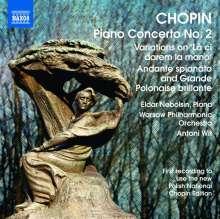Frederic Chopin (1810-1849): Klavierkonzert Nr.2, CD