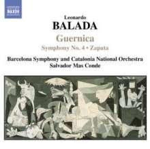 Leonardo Balada (geb. 1933): Symphonie Nr.4, CD