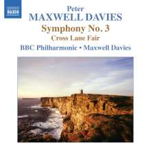 Peter Maxwell Davies (geb. 1934): Symphonie Nr.3, CD