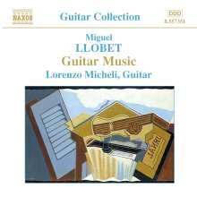 Miguel Llobet (1878-1938): Gitarrenwerke, CD