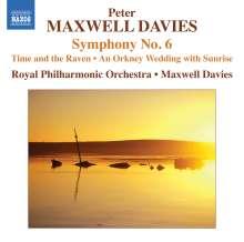 Peter Maxwell Davies (1934-2016): Symphonie Nr.6, CD