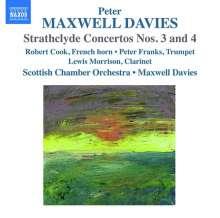 Peter Maxwell Davies (1934-2016): Strathclyde Concertos Nr.3 & 4, CD