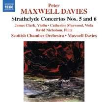 Peter Maxwell Davies (1934-2016): Strathclyde Concertos Nr.5 & 6, CD