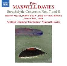 Peter Maxwell Davies (1934-2016): Strathclyde Concertos Nr.7 & 8, CD
