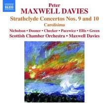 Peter Maxwell Davies (1934-2016): Strathclyde Concertos Nr.9 & 10, CD