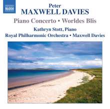 Peter Maxwell Davies (1934-2016): Klavierkonzert, CD