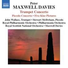 Peter Maxwell Davies (1934-2016): Trompetenkonzert, CD