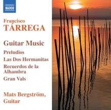 Francisco Tarrega (1852-1909): Gitarrenwerke, CD