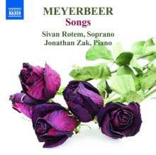 Giacomo Meyerbeer (1791-1864): Lieder, CD