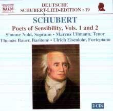 Franz Schubert (1797-1828): Lieder, 2 CDs