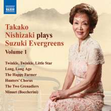 Takako Nishizaki - Suzuki Evergreens Vol.1, CD