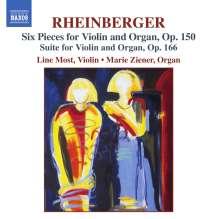 Josef Rheinberger (1839-1901): Suite für Violine & Orgel op.166, CD