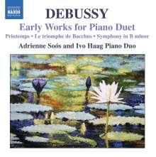 """Claude Debussy (1862-1918): Klavierwerke zu vier Händen """"Early Works for Piano Duet"""", CD"""