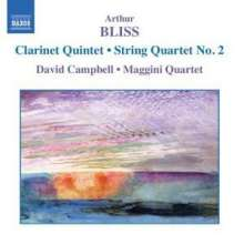 Arthur Bliss (1891-1975): Streichquartett Nr.2, CD