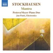 Karlheinz Stockhausen (1928-2007): Mantra für 2 Pianisten, CD