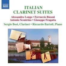 Sergio Bosi - Italienische Klarinettensuiten, CD