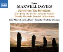 Peter Maxwell Davies (1934-2016): Suite aus The Boyfriend, CD