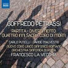 Goffredo Petrassi (1904-2003): Divertimento C-Durotte (Ballettsuite), CD