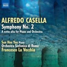 Alfredo Casella (1883-1947): Symphonie Nr.2 op.12, CD