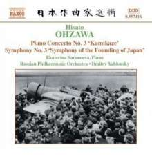 "Hisato Ohzawa (1907-1953): Symphonie Nr.3 ""Symphony of the Founding of Japan"", CD"