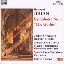 """Havergal Brian (1876-1972): Symphonie Nr.1 """"Gothic"""", 2 CDs"""