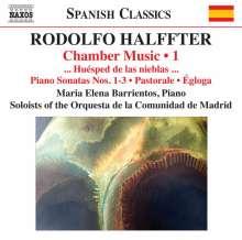 Rodolfo Halffter (1900-1987): Kammmusik Vol.1, CD