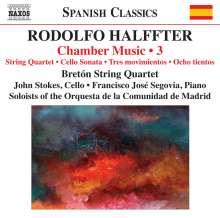 Rodolfo Halffter (1900-1987): Kammermusik Vol.3, CD