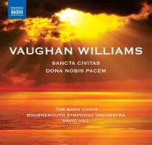 Ralph Vaughan Williams (1872-1958): Dona Nobis Pacem - Cantata, CD