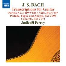 Johann Sebastian Bach (1685-1750): Transkriptionen für Gitarre, CD