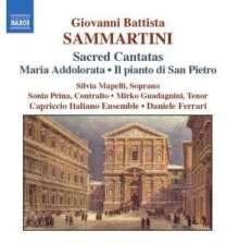 Giovanni Battista Sammartini (1701-1775): Kantaten, CD