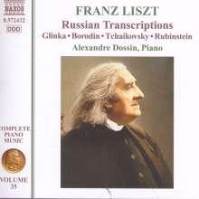 Franz Liszt (1811-1886): Klavierwerke Vol.35, CD