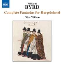 William Byrd (1543-1623): Sämtliche Fantasien für Cembalo, CD