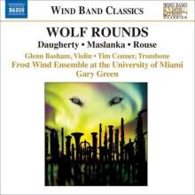 Frost Wind Ensemble University Miami - Wolf Rounds, CD
