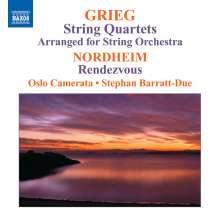 Edvard Grieg (1843-1907): Streichquartette Nr.1 & 2 (arr.für Streichorchester), CD