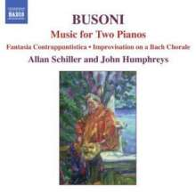 Ferruccio Busoni (1866-1924): Werke für 2 Klaviere, CD
