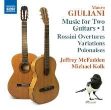 Mauro Giuliani (1781-1829): Werke für 2 Gitarren, CD
