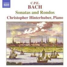 Carl Philipp Emanuel Bach (1714-1788): Klaviersonaten & Rondos, CD