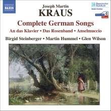 Josef Martin Kraus (1756-1792): Deutsche Lieder, CD