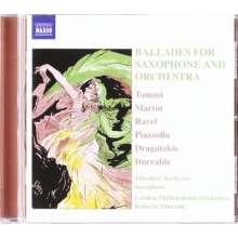 Theodore Kerkezos - Ballades for Saxophone & Orchestra, CD
