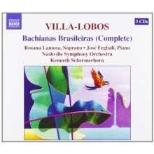 Heitor Villa-Lobos (1887-1959): Bachianas Brasileiras Nr.1-9, 3 CDs