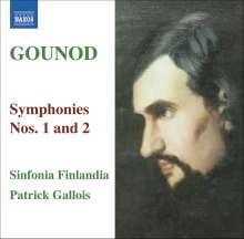 Charles Gounod (1818-1893): Symphonien Nr.1 & 2, CD