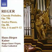 Max Reger (1873-1916): Sämtliche Orgelwerke Vol.11, CD