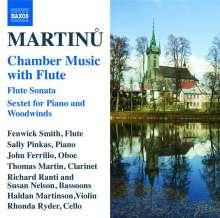 Bohuslav Martinu (1890-1959): Kammermusik für Flöte, CD