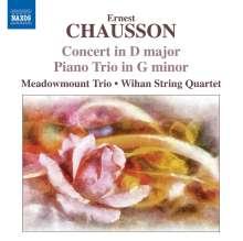 Ernest Chausson (1855-1899): Konzert für Klavier,Violine & Streichquart.op.21, CD