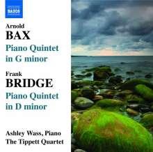 Arnold Bax (1883-1953): Klavierquintett g-moll, CD