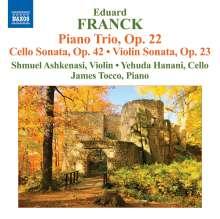 Eduard Franck (1817-1893): Klaviertrio op.22, CD