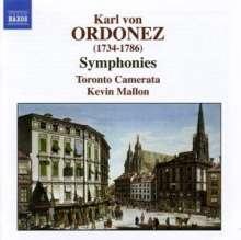 Karl von Ordonez (1734-1786): Symphonien in C,g,g,A,h, CD