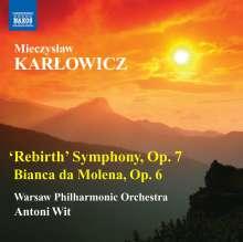 """Mieczyslaw Karlowicz (1876-1909): Symphonie op.7 """"Rebirth"""", CD"""
