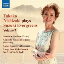 Takako Nishizaki - Suzuki Evergreens Vol.7, CD