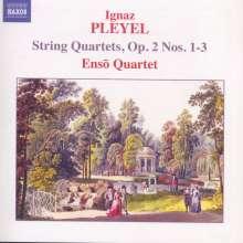 Ignaz Pleyel (1757-1831): Streichquartette op.2 Nr.1-3, CD